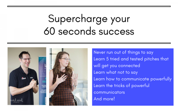 super charge your 60 second elevator pitch to powerfully communicate