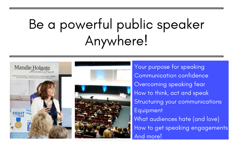 Be a powerful public speaker