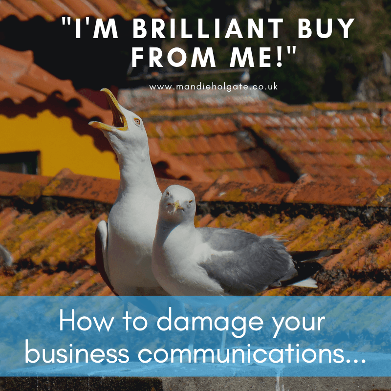 Mistakes in business communications online