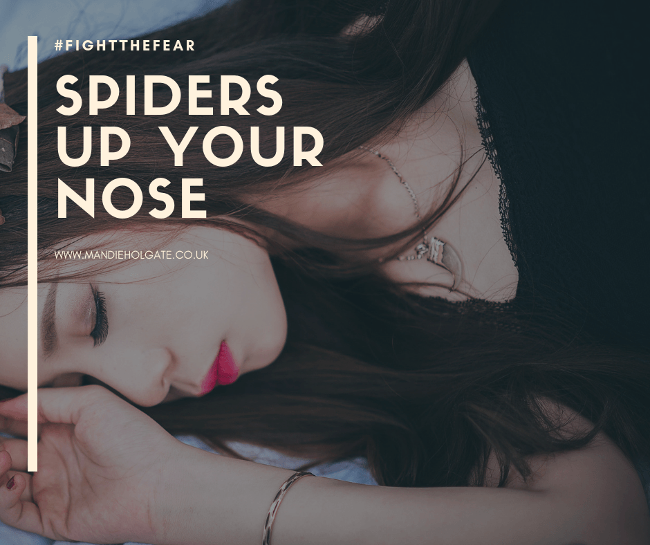 fears spiders up your nose