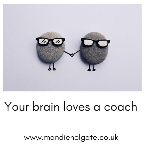 Your brain loves a coach