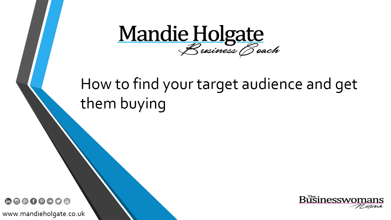how to find your target audiences niche sell more
