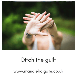 ditch the guilt own who you are