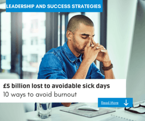 burnout the cost to you business